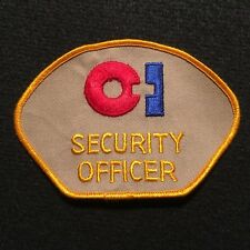 Security Officer Patch / Private Patrol Protective Services Guard