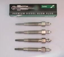 LUCAS GLOW PLUG - DIESEL HEATER PLUGS X 4  MITSUBISHI L200 1986-96