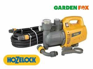 new - HOZELOCK - JET 3000 K7 - Garden JET PUMP & Fixings 7606 5010646059398 .
