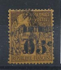 Martinique  N°13 Obl (FU) 1888/91