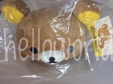 "(NEW) Official 15"" San-X Co. Rilakkuma Layflat Plush, Doll, Stuffed Animal,"