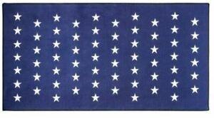 New Titleist Stars & Stripes Microfiber Golf Towel TA9MFTWLSS-14 White Navy