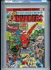 Invaders #5 Red Skull 1976 CGC 9.8 White Pages