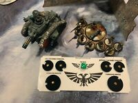 CONTROL CONSOLE FOR WARHAMMER 40,000  9ed- VICTORY POINTS AND COMMAND POINTS