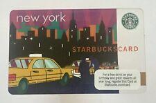 2010 Starbucks Gift Card. NEW YORK TAXI. Mint. Worldwide shipping.