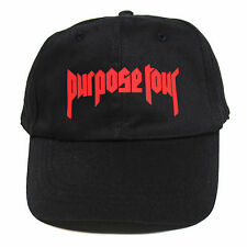 Purpose Tour 6 panel cap strapback Justin Beiber dad hat god yeezus NEW