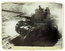 WWII Stuart Tank Indian 25th Division Myebon Burma 1945 Official Photograph 1388