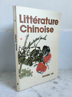 Literatura China Noviembre 1981