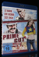 BLU-RAY PRIME CUT - DIE PROFESSIONALS - GENE HACKMAN + LEE MARVIN + SISSY SPACEK