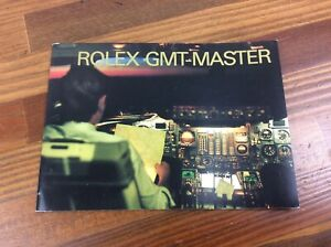 Rolex GMT Master Booklet in English 2000 + FREE SHIPPING