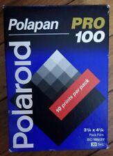 Polaroid Polapan Pro 100  B&W Instant Pack Film, Expired 3/99 20 photos New