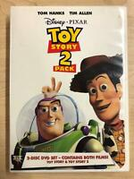 Toy Story - Toy Story 2 (DVD, Disney Pixar Double Feature) - F1124