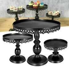 3 Piece Cake Stand Cupcake Dessert Holder Birthday Wedding Party Display Decor
