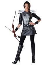 Ladies Size XL Medieval Midnight Huntress Archer Halloween Costume