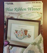 Leisure Arts Blue Ribbon Winner Book 16 Leaflet 649