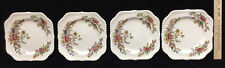 Salad Luncheon Plates Johnson Bros Windsor Ware The Marquis Pattern Set of 4