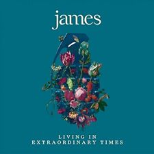 JAMES LIVING IN EXTRAORDINARY TIMES CD - NEW RELEASE AUGUST 2018