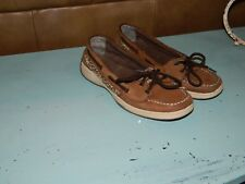 Womens Sperry Top-Sider Laguna Leopard  Boat Shoes Size 5