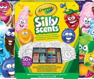 Crayola Silly Scents Mini Art Kit With Smelly Scents Markers Crayons