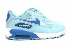 Nike Toddler AIR MAX 90 Prem Mesh Copa Blue Lagoon Shoes (724878 400) - Size 6C