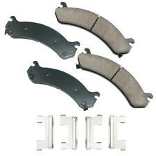 Frt Ceramic Brake Pads  Akebono  ACT784