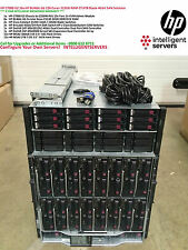 HP C7000 G2 16x HP BL460c G6 128-Cores 512GB RAM 27.6TB Blade 4Gbit SAN Solution