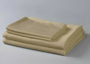800 Thread Count 100% Egyptian Cotton Silky Sateen Sheet Set (Cal-King, Taupe)