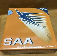 NEW BIG BIRD SAL BOEING 747-400 SAA SOUTH AFRICAN AIRWAYS 1:500 SCALE NIB RARE