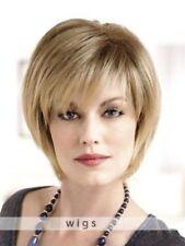 Natural Mittelblond Dame Perücke Mode Kurz Haar Perücken Perruques Wie Echthaar