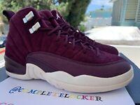 New Nike Air Jordan 12 XII Retro Bordeaux BG GS 153265-617 Youth Boys Size 4