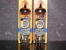 ECL86 6GW8 EI Philips Platinum Matched Pair NOS NIB