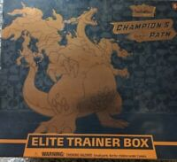 Pokemon Champions Path Elite Trainer Box TCG Factory Sealed In Hand