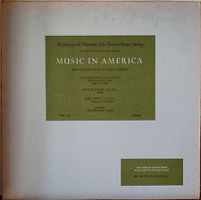 INSTRUMENTAL MUSIC IN EARLY AMERICA-NM1966LP REINAGLE/TAYLOR/HEWITT