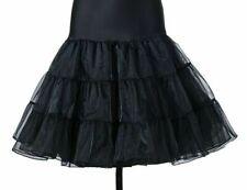 Tütü Röcke Swing Rockabilly Petticoat Unterrock Flauschig Hochzeit Braut Vintage