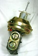 """A-Body 9"""" Zinc Power Brake Booster Delco + Manual Master Cylinder w/ Bleeders"""