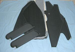 1970-72  chevelle SS new sun visors & headliner black perforated