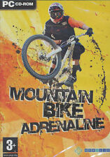 MOUNTAIN BIKE ADRENALINE - Extreme Mountain Biking Sim PC Game - US Seller - NEW
