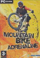 MOUNTAIN BIKE ADRENALINE - Extreme Mountain Biking Sim PC Game - US Seller - NEW