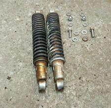 1980 KAWASAKI  KE100 KE-100 enduro SHOCKS original pair set rear ..w bolts!