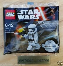 LEGO Exclusive Star Wars Minifigure - First Order Stormtrooper 30602 - Brand New