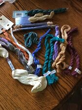 MIXED LOT COTTON FLOSS HAND DYED CARON NEEDLE NECESSITIES