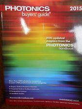 Photonics Buyer's Guide 2015 new paperback catalog