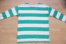 BODEN green  striped   drop shoulder  breton  size 6