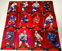 2020-21 Upper Deck Tim Hortons Red Die Cut Insert Card U-PICK