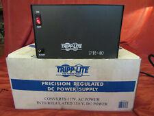 TRIPP LITE PR-40 DC Power Supply,40A,120VAC to 13.8VDC NEW