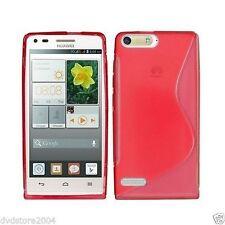 Cover e custodie rosso semplice per Huawei Ascend