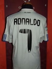 RONALDO REAL MADRID 2010/2011 MAGLIA SHIRT CALCIO FOOTBALL MAILLOT JERSEY SOCCER