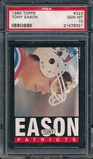 1985 Topps #323 TONY EASON PSA 10 (FB03)