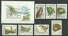 Uzbekistan 1993 year mint stamps MNH (**) animals
