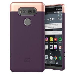 LG V20 Case, Ultra Thin (SlimShield) Full Coverage, Hybrid Tough Shell (Purple)